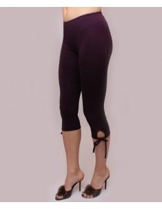 """Бриджи женские модель """"Завязки"""" фиолетовые. Размеры 44-62"""