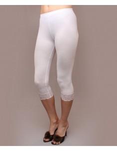 """Бриджи женские модель """"Гипюр"""" белые. Размеры 44-56"""
