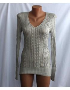 Пуловер №18 серый