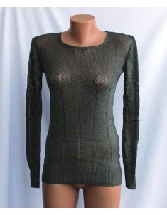 Пуловер №20 олива