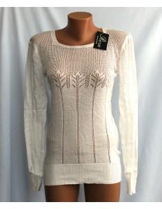 Пуловер №20 белый