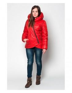 Куртка модель №20 (колокольчик) красная. Размер 42-48