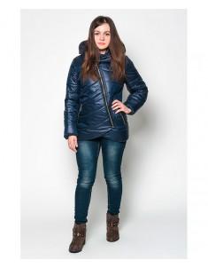 Куртка модель №20 (колокольчик) синяя. Размер 42-48