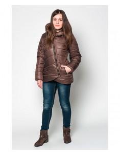 Куртка модель №20 (колокольчик) шоколад. Размер 42-48