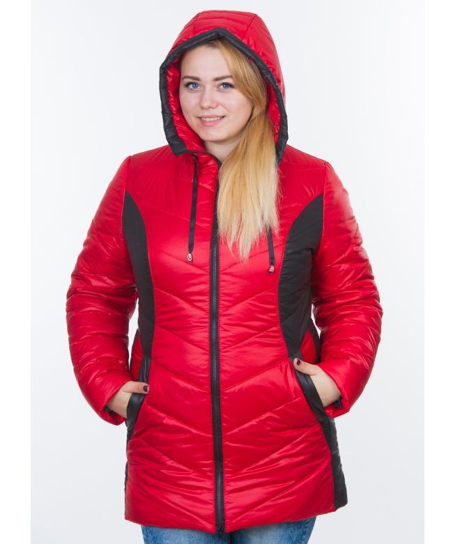 52614e7dca6 Куртка женская зимняя большого размера средней длины оптом и в ...