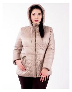 Куртка модель №27 бежевая. Размер 46-54