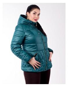 Куртка модель №27 зеленая. Размер 46-54