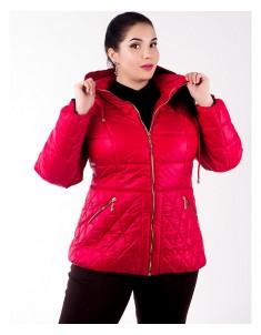Куртка модель №27 красная. Размер 46-54