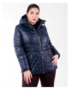 Куртка модель №27 темно-синяя. Размер 46-54