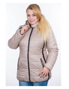 Куртка модель №25 бежевая. Размер 44-54