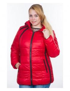 Куртка модель №25 красная. Размер 44-54