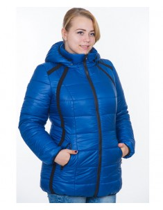Куртка модель №25 синяя. Размер 44-54