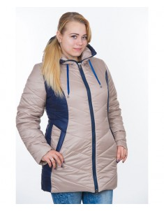Куртка модель №26 бежевая. Размер 48-64