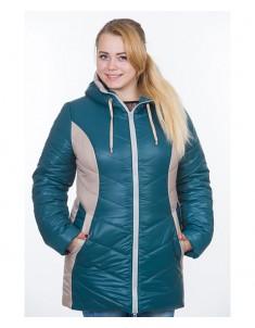 Куртка модель №26 зеленая. Размер 48-64