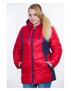 Куртка модель №26 красная. Размер 48-64