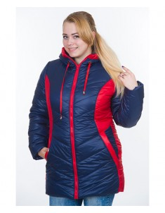Куртка модель №26 синяя. Размер 48-64