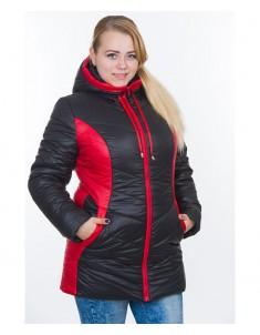 Куртка модель №26 черная. Размер 48-64