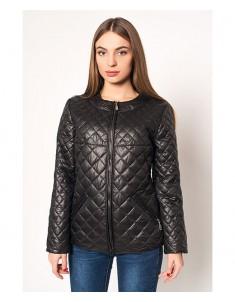 Куртка модель №28 черная. Размер 42-54