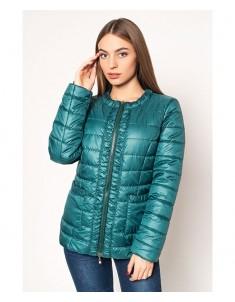 Куртка модель №29 зеленая. Размер 44-52