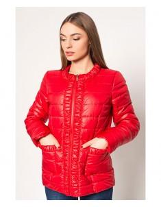 Куртка модель №29 красная. Размер 44-52