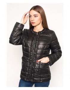 Куртка модель №29 черная. Размер 44-52