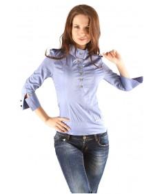 Рубашка №2 стойка джинс. Размеры 42-48