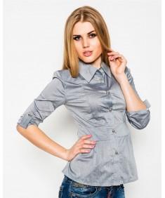 Рубашка №3 пояс серая. Размеры 42-52