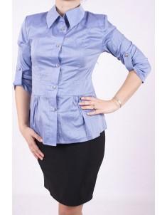 Рубашка №3 пояс синяя. Размеры 48-50