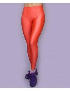 Лосины спорт оранжевые батал. Размеры 42-58