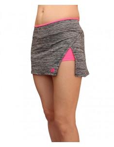 Юбка-шорты спорт серые розовые