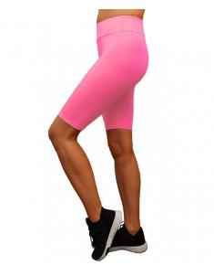 Велосипедки розовые бифлекс. Размеры 42-48