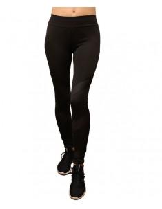 Лосины для фитнеса женские эластик черные с сеткой модель 611 р. 42-48