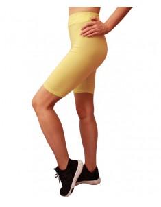 Велосипедки желтые бифлекс. Размеры 40-48