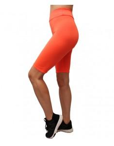 Велосипедки оранжевые бифлекс. Размеры 42-48