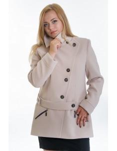 Пальто модель №40 бежевое. Размер 44-54