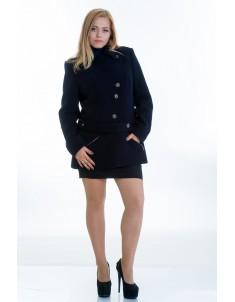Пальто модель №40 черное. Размер 44-54