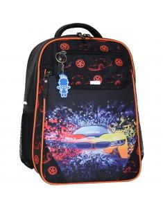 Рюкзак школьный Отличник 1-3 класс черный BMW
