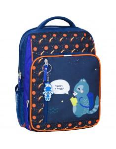 Рюкзак школьный модель Школьник 225 синий 429