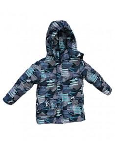 Куртка Европейка демисезонная Синие стрелки для мальчика