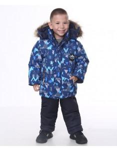Зимний костюм Синий Кристалл