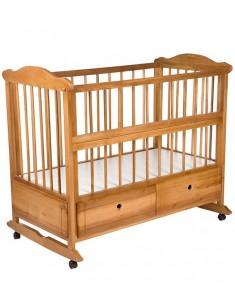 Кроватка детская Комфорт лакированная