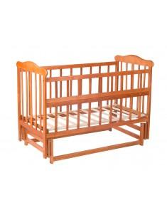 Кроватка детская Маятник лакированная c подшипником