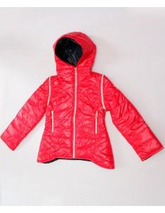 """Куртка демисезонная """"Ника"""" красная. Размер: 32-38"""