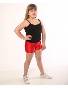 Шорты детские спортивные бифлекс красные
