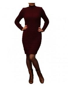 Платье вязанное модель 704 р. 44-50 разные цвета